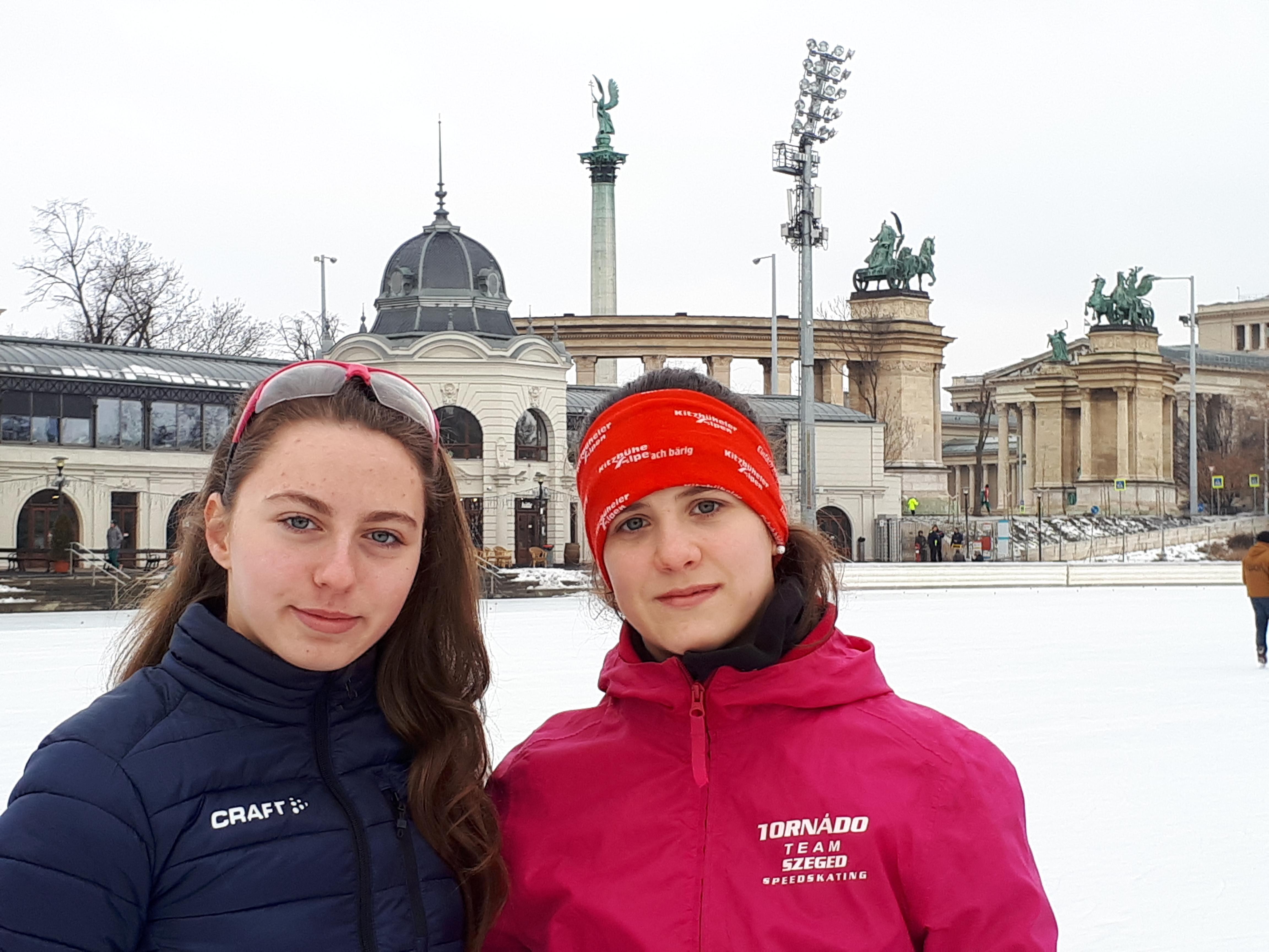 Bíró Hanna Magyarország gyorskorcsolya Junior Bajnoka