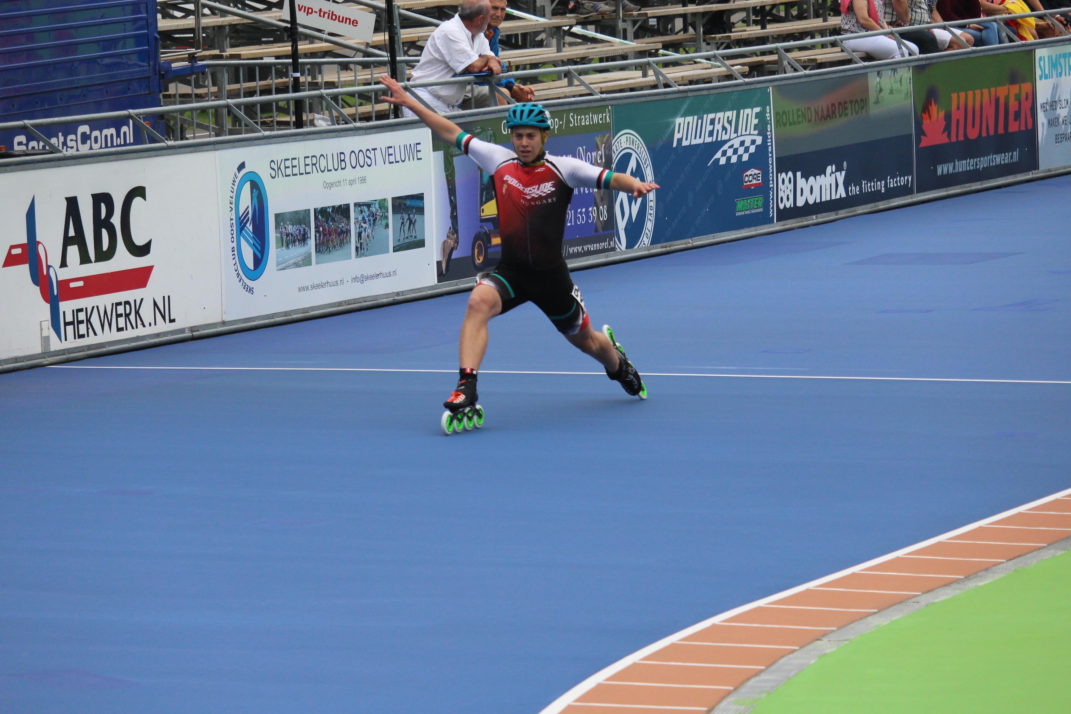 Junior EB Heerde/ Pálya 1. nap - 300 méterek és pont elimináció