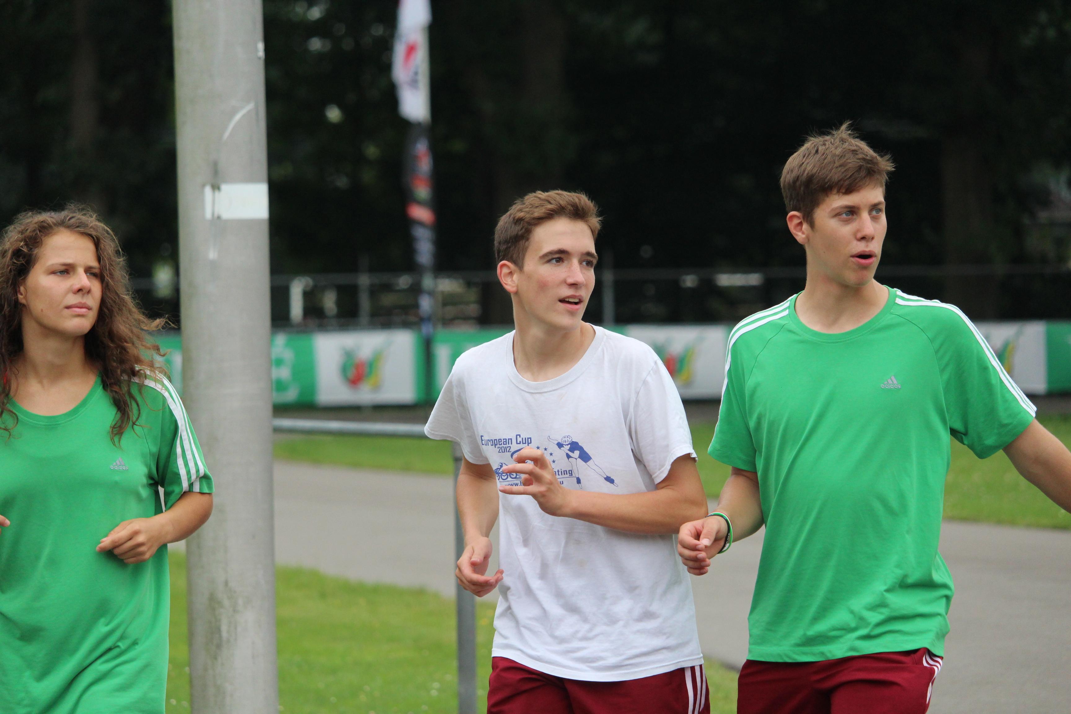 Junior EB Heerde/utcai versenyek 1. nap